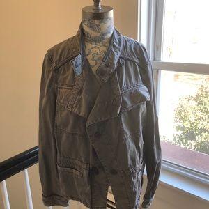 Anthropology Cargo Jacket.
